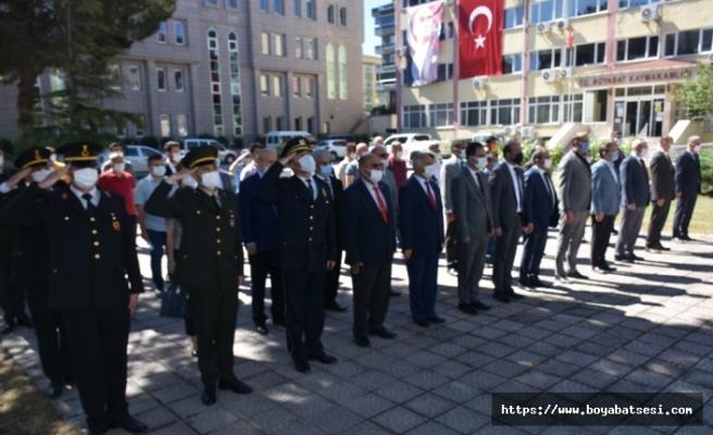Boyabat'ta 19 Mayıs Atatürk'ü Anma Gençlik ve Spor Bayramı