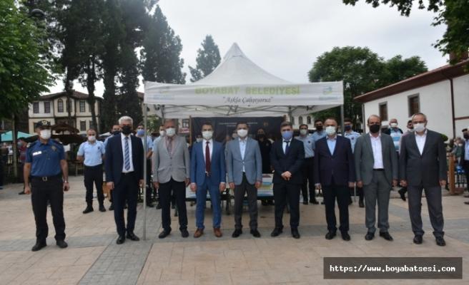 Boyabat'ta cezaevleri için kitap bağış kampanyası başlatıldı