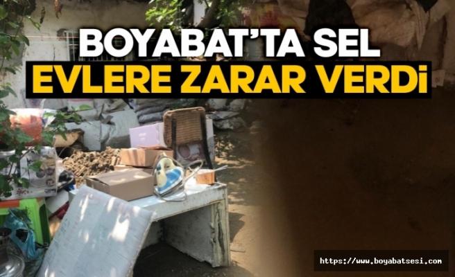AFAD Boyabat'ta hasar tespit çalışması gerçekleştirdi !