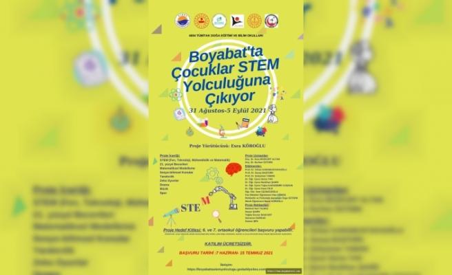 İlimizde Tübitak tarafından onaylanan tek proje Boyabat'tan