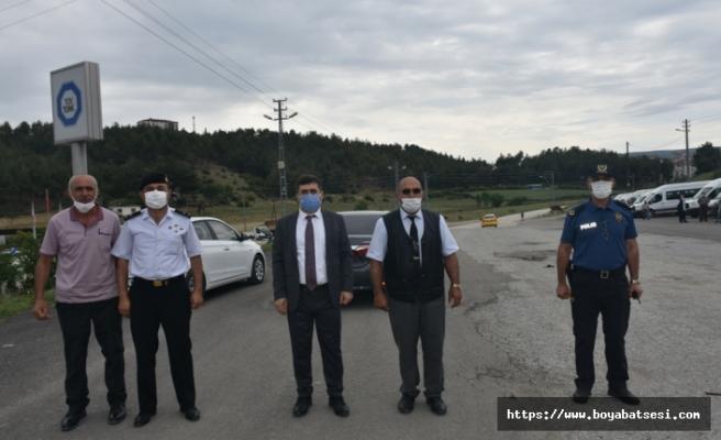 Kaymakam Çetin'den toplu taşım araçlarında denetim