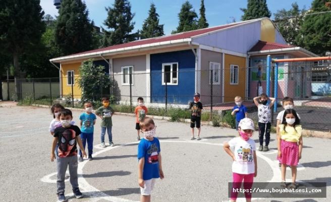 Boyabat Cumhuriyet İlk-Ortaokulu bünyesinde telafi eğitimleri başladı