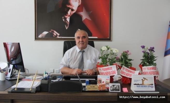 Boyabat'ta 'Yeni Konsept Nüfus Müdürlüğü' çalışması tamamlandı