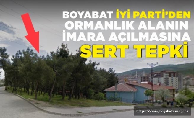 Boyabat İYİ Parti basın açıklaması