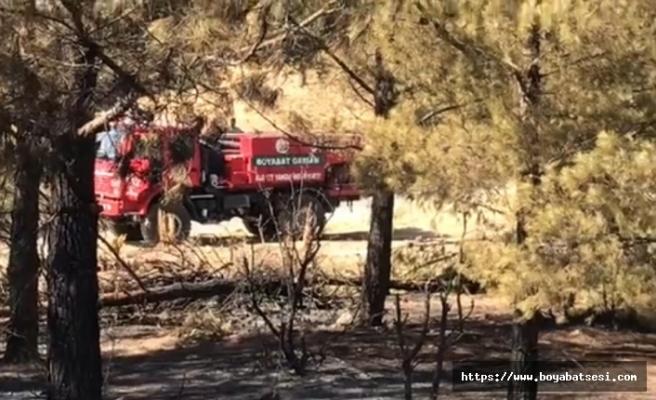 Boyabat Orman İşletme ekipleri Mersin'e can oldu