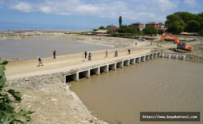 Kastamonu ve Sinop'u birbirine bağlayan köprü yeniden açıldı