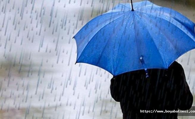 Sinop ve çevresinde şiddetli yağış uyarısı!