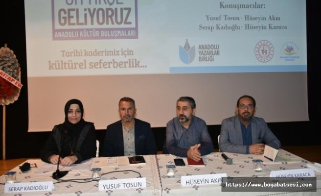 Boyabat Gençlik Merkezi gençlere yönelik panel düzenledi