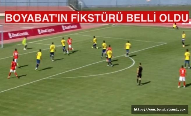 Boyabat İlk hafta evinde Amasyaspor'u ağırlayacak