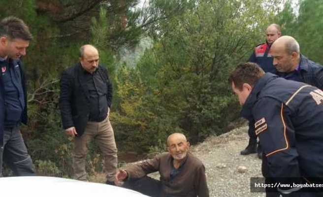 Fakılı'da kaybolan Alzheimer hastası vatandaş ormanda bulundu