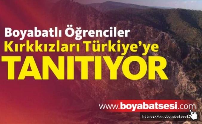 Boyabatlı Öğrenciler Kırkkızlar Efsanesini Türkiye'ye tanıtıyor