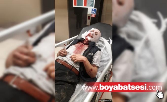 Köpeğin saldırısına uğrayan işçi yaralandı