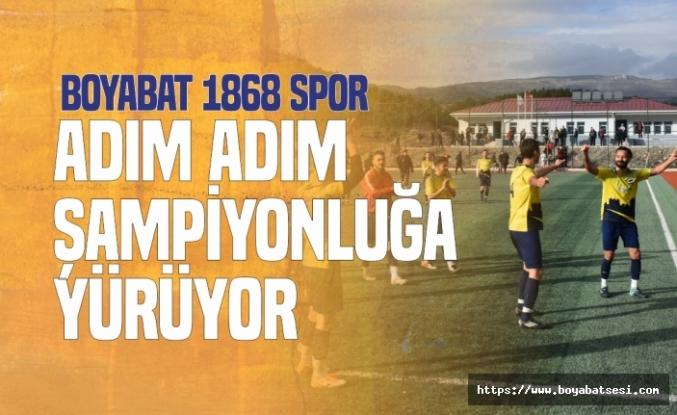 Durağanspor 1-4 Boyabat 1868 Spor