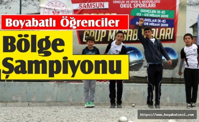 Boyabat Çattepe Ortaokulu Türkiye Finalinde