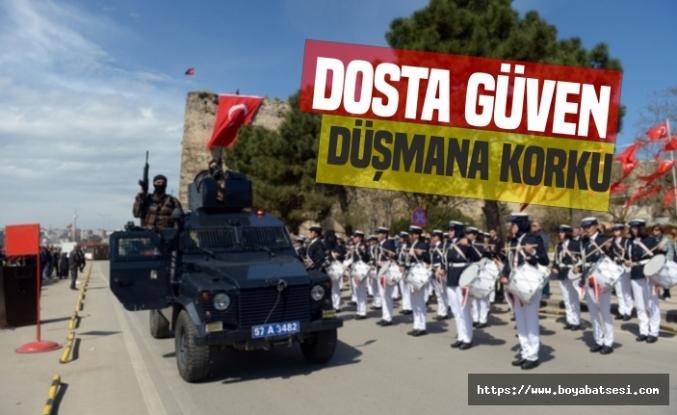 Sinop Emniyetinden 174. Yıl programı