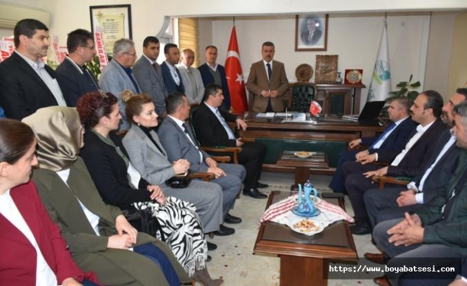 Milletvekili Maviş'ten Başkan Çakıcı'ya Tebrik Ziyareti