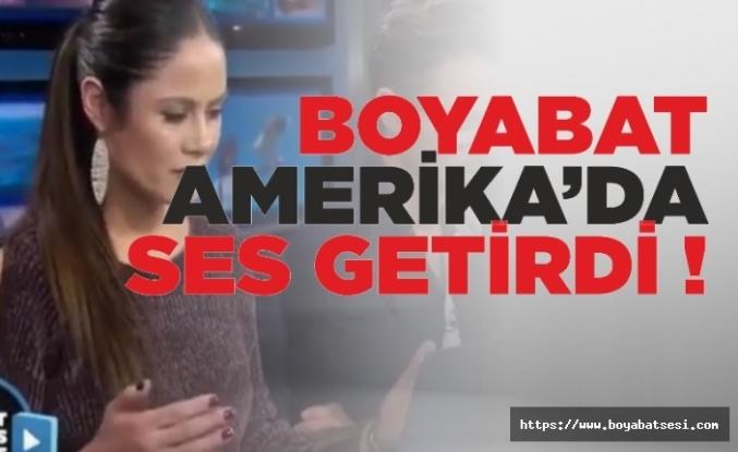 Boyabat Amerika'da MagicDust Televizyonuna Konu Oldu