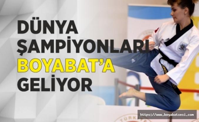 Dünya Şampiyonları Boyabat'ta Gösteri Yapacak