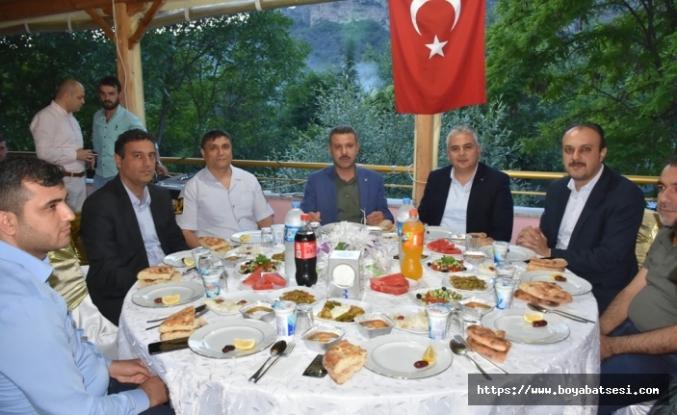 Kaymakam Aksoy, Muhtarlara İftar Yemeği Verdi