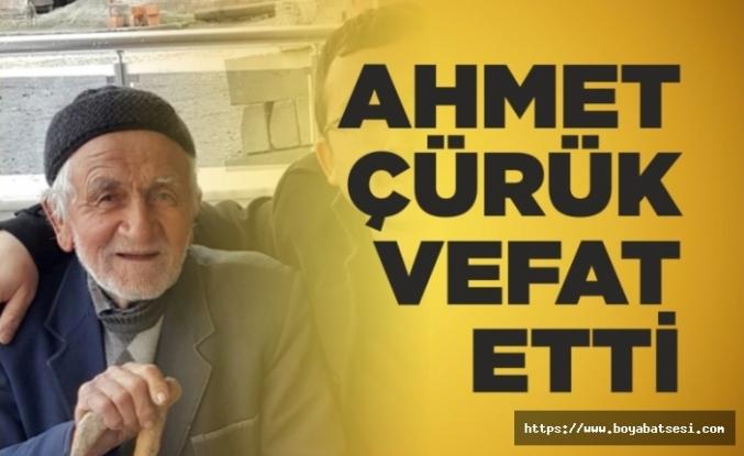 Ahmet Çürük Hayatını Kaybetti