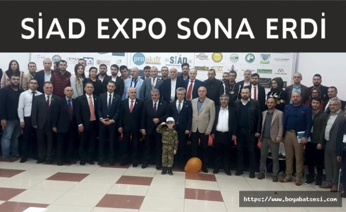 Büyük İlgi Gören SİAD EXPO Sona erdi
