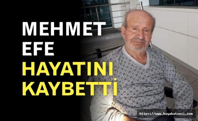 Mehmet Efe Hayatını Kaybetti