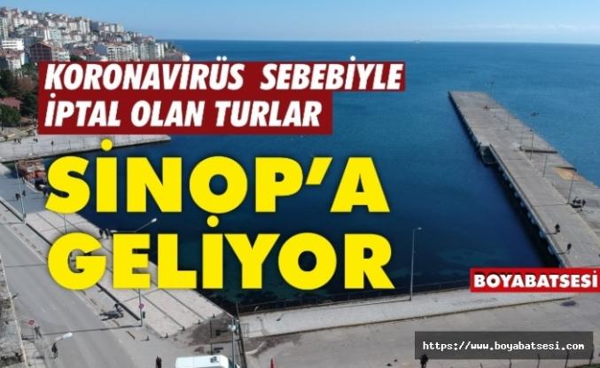 Korona virüsü tehdidiyle iptal olan Uzak Doğu turları Sinop'a kayıyor