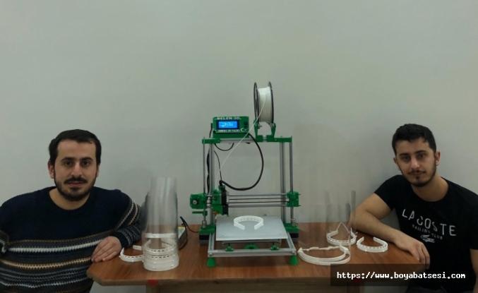 Türkelili mühendis yüz maskesi üretti