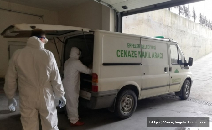 Koronavirüs kurbanı yaşlı adam Erfelek'te toprağa verildi