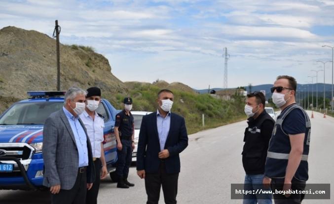 Kaymakam Aksoy güvenlik kuvvetlerinin bayramını kutladı