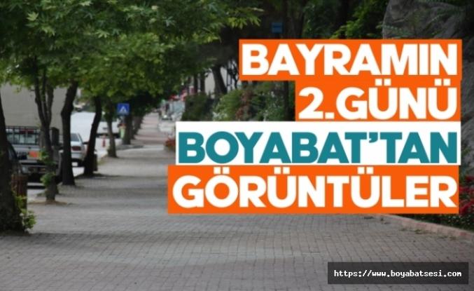 Ramazan Bayramının 2. Gününde Boyabat'tan fotoğraf kareleri
