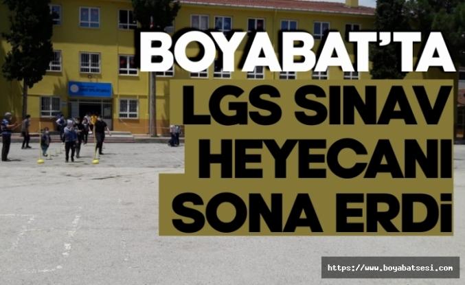 Boyabat'ta Koronavirüs gölgesinde LGS gerçekleştirildi