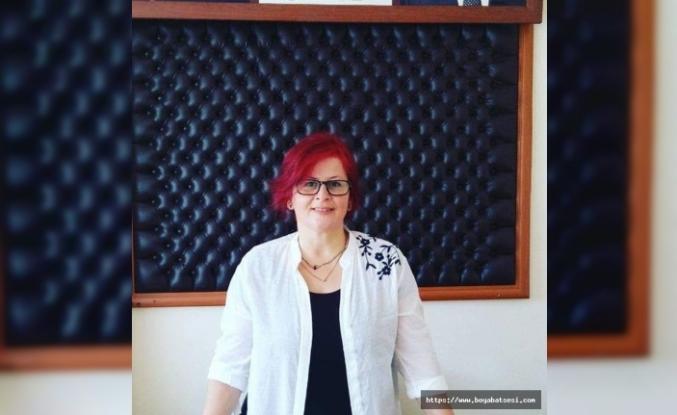 """CHP Boyabat Kadın Kolları'ndan """"Kadına Şiddete Son"""" basın açıklaması"""