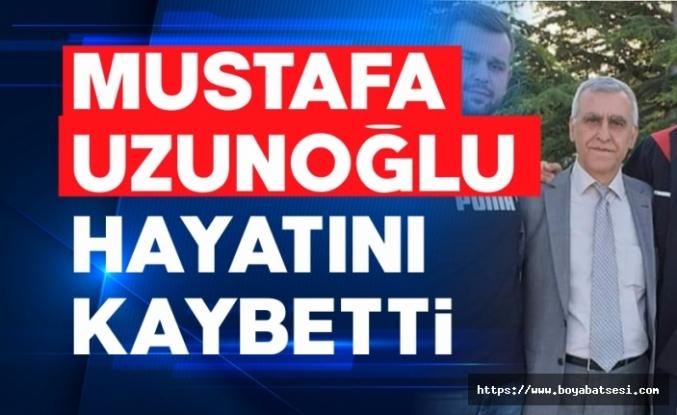 Emekli polis Mustafa Uzunoğlu vefat etti