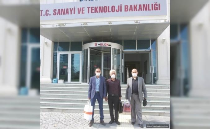 Boyabat Marangozlar ve İnşaatçılar Odasının Ankara mesaisi