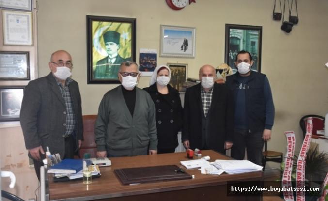 Boyabat Chp İlçe Başkanlığından Gazetemize ziyaret