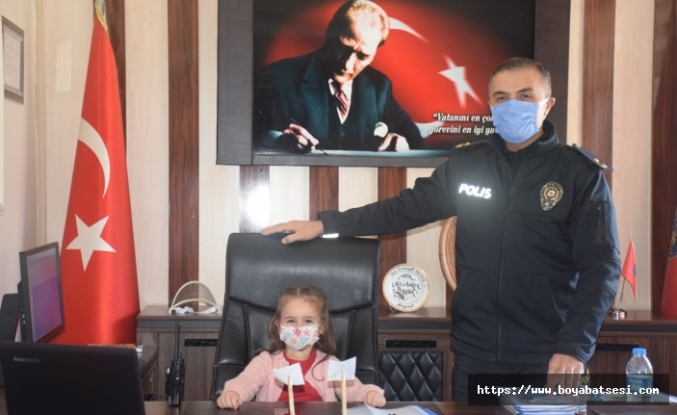 Boyabatlı Elif Nilay'ın Polis sevgisi