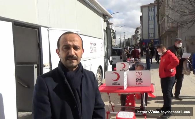 Boyabat Gençlik Merkezinden kan bağışı kampanyası