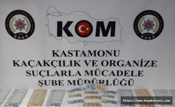 Kastamonu'da Sahte Para Operasyonu