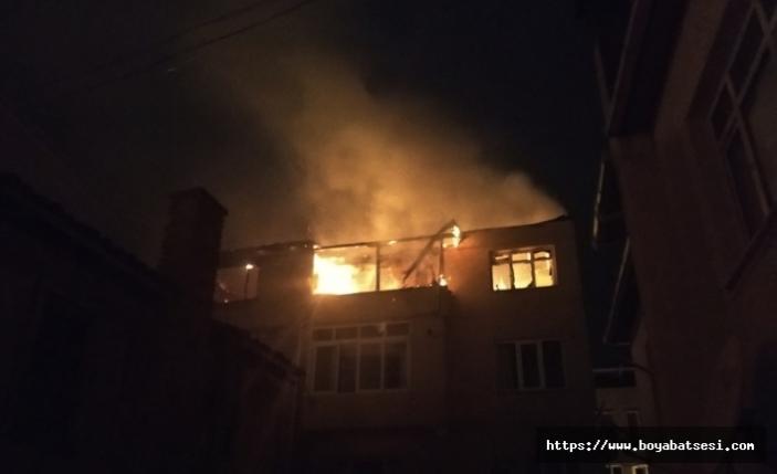 Sinop'ta Yangın
