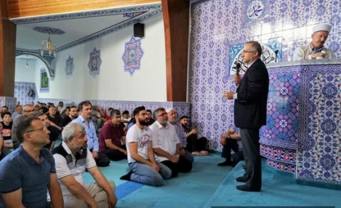 Camiye Bomba İhbarı