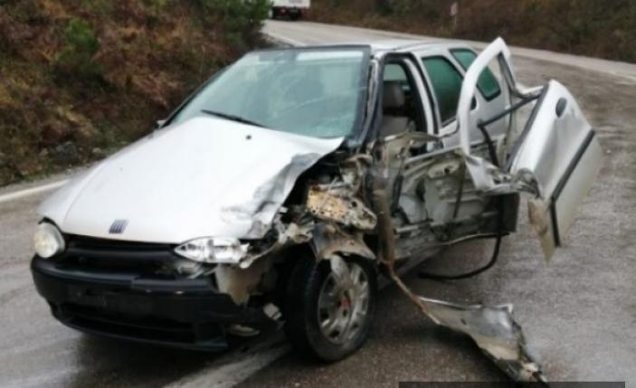 Sinop'ta trafik kazası: 1'i çocuk 3 yaralı