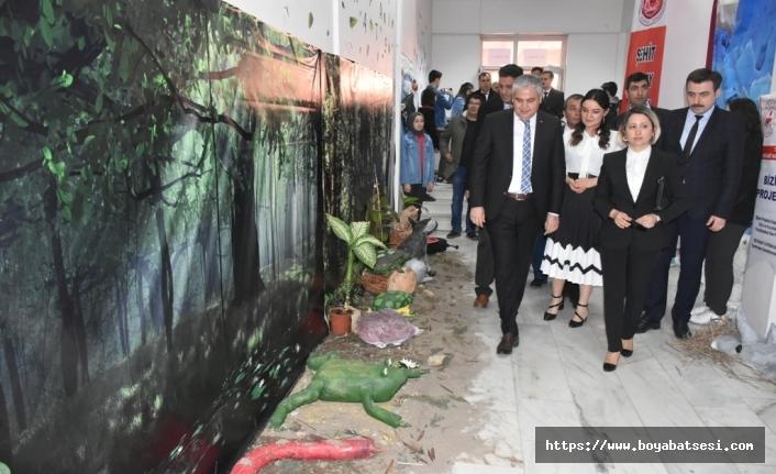 """Boyabat'ta """"Hayvan Müzesi"""" Sergisi Açıldı."""