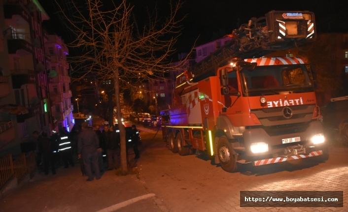 Çamlıca Mahallesi'ndeki Baca Yangını Kısa Sürede Söndürüldü