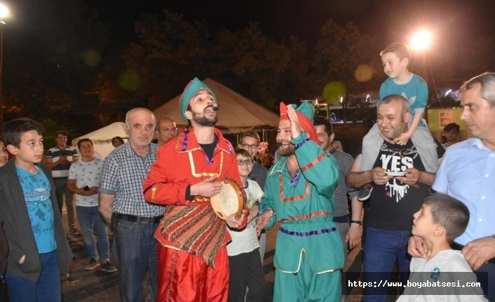 Boyabat'ta Ramazan Eğlenceleri Devam Ediyor