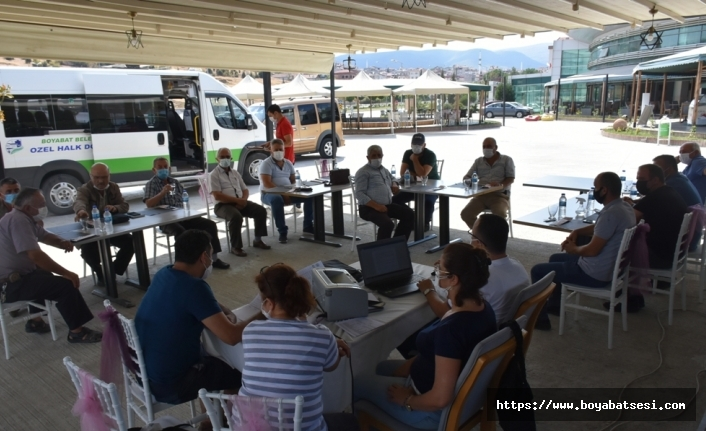 Boyabat S.S. 20 Nolu Motorlu Taşıyıcılar Kooperatifi Olağan Genel Kurulu Yapıldı