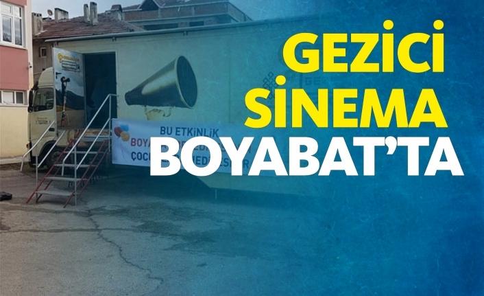 Gezici Sinema Boyabat'ta