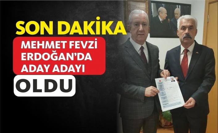 Mehmet Fevzi Erdoğan Aday Adayı Oldu