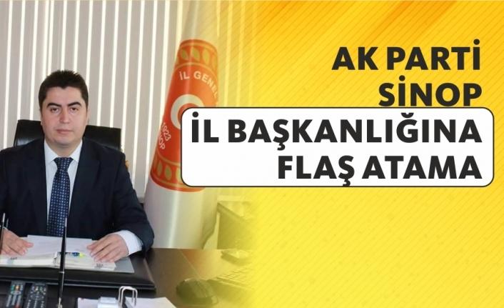 AK Parti Sinop İl Başkanlığına flaş atama