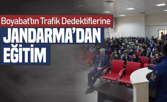 Boyabat'ın Trafik Dedektiflerine Jandarma'dan Eğitim